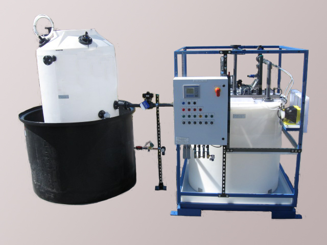 Concentrated waste acid neutralization system